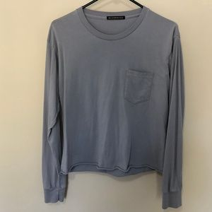 Long sleeve Crop T-shirt